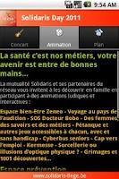 Screenshot of Solidaris Day 2011