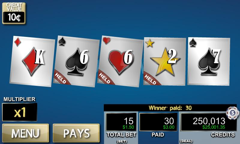 Hot Hand: Deuces Wild- screenshot