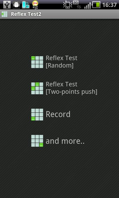 Reflex Test2- screenshot