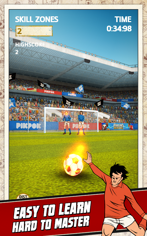 Flick Kick Football- screenshot