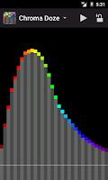 Screenshot of Chroma Doze (white noise)