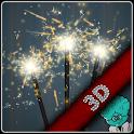 Sparkler 3D icon