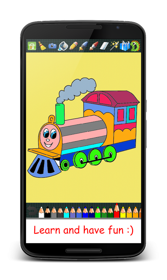 Coloring Pages App Android : Coloring pages for kids android apps on google play