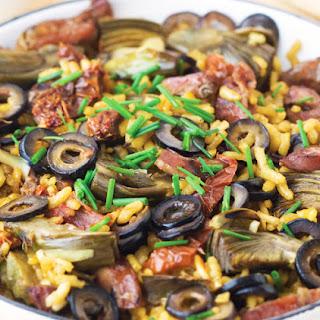 Saffron Sausage Paella