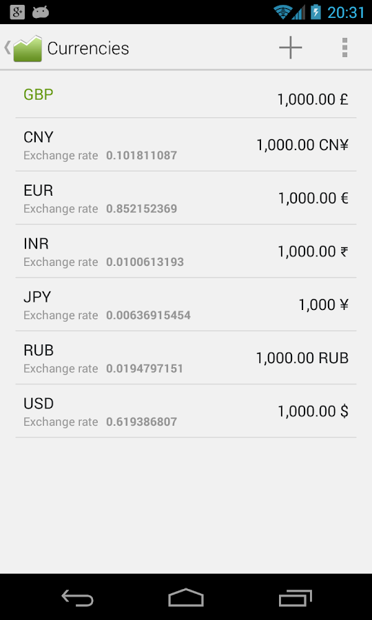 Financius - Expense Manager - screenshot