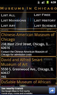 Museums In Chicago- screenshot thumbnail