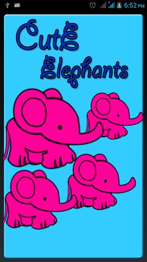 Baby Elephants Gif Wallpapers