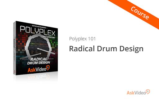 Radical Drum Design: Polyplex