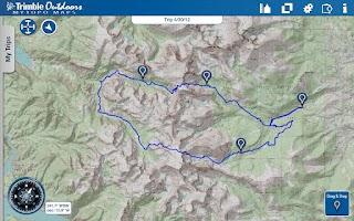 Screenshot of MyTopo Maps - Trimble Outdoors