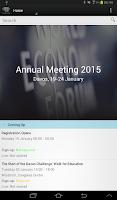Screenshot of World Economic Forum Events