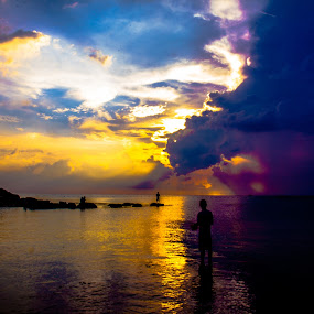the sunset at Phu Quoc island, Vietnam by Nguyen Huu Hung - Landscapes Sunsets & Sunrises