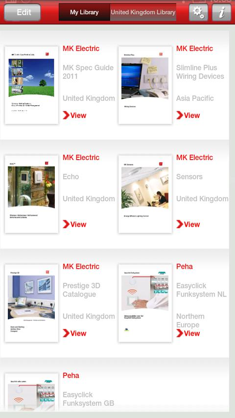 Honeywell ED&S Library- screenshot