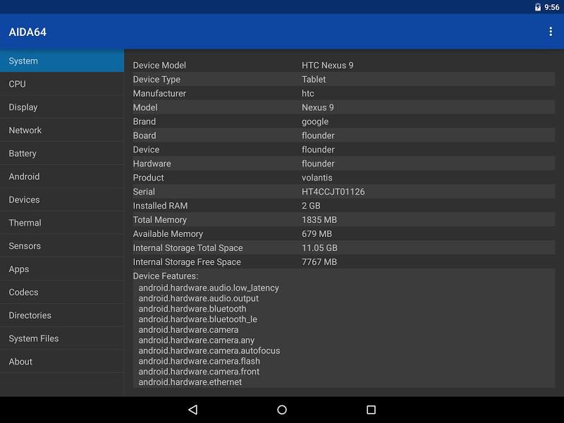 AIDA64 Screenshot 8