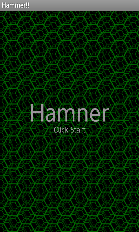 Hammer(Shooting breakout)- screenshot