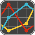 Utility Costs Graph icon