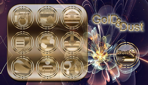 Gold Dust Icon Pack