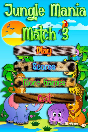 Jungle Mania Match 3