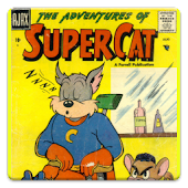 Super Cat Comic Book #1