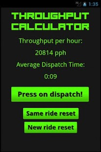 Throughput Calculator- screenshot thumbnail