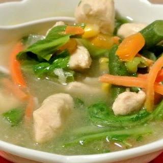 Detox Chicken Bok Choy Soup #SundaySupper.