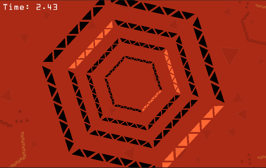 Crazy Hexagon- screenshot