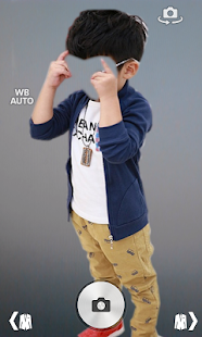 Kid Boy Fashion Photo Montage screenshot