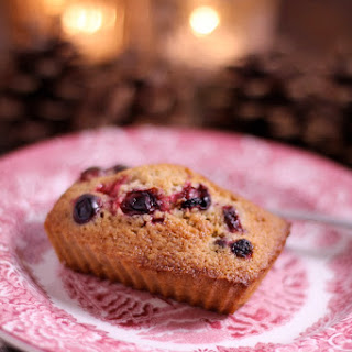 Cranberry- Pecan Financiers.