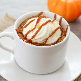 Pumpkin Pie Mug Cake
