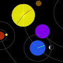 Gratuit Horloge astronomique icon