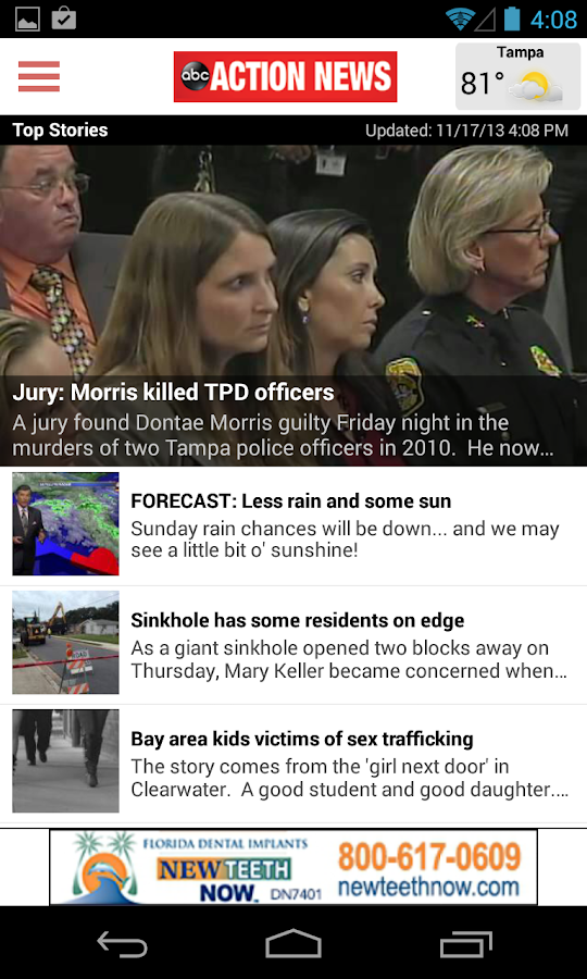 ABC Action News Tampa Bay- screenshot
