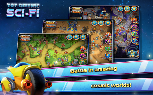 Toy Defense 4: Sci-Fi TD Free - screenshot thumbnail