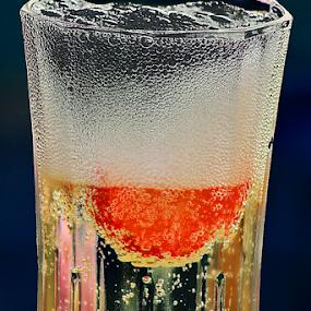 Sparkling Wine Bubbles by Phil Le Cren - Food & Drink Alcohol & Drinks ( wine, drink, bubbles, sparkling wine bubbles, sparkling wine,  )