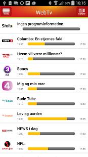 WebTv - screenshot thumbnail