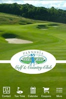Screenshot of Pannonia Golf & Country Club
