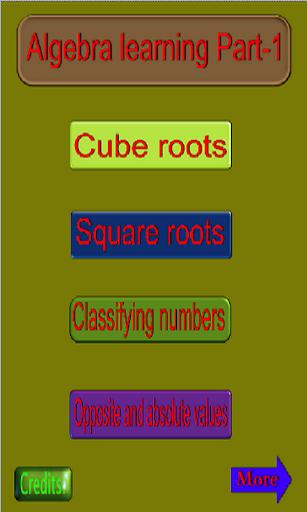 Algebra learning Part-1