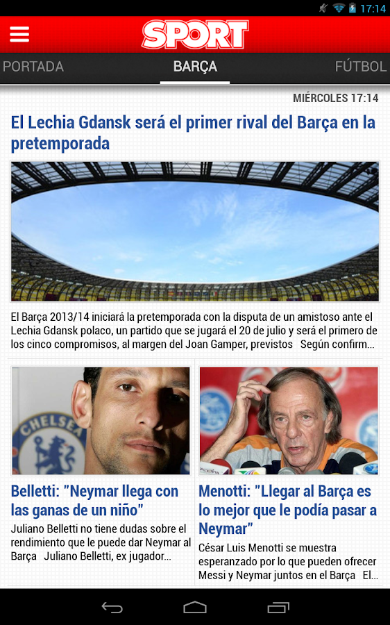 SPORT.es - screenshot