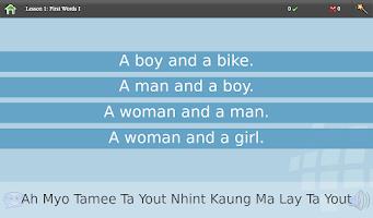 Screenshot of L-Lingo Learn Burmese