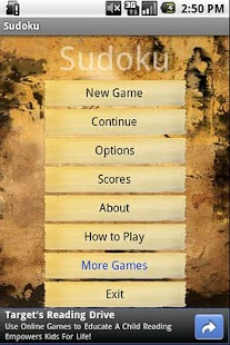 Sudoku - brain training - screenshot thumbnail