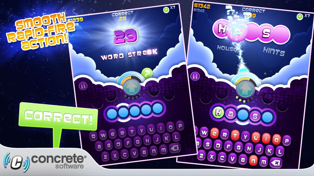 Wordsplosion- screenshot