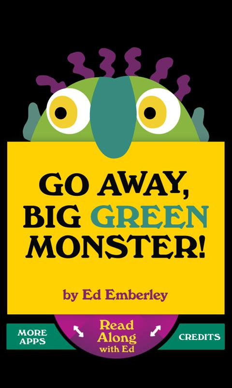 Go Away, Big Green Monster!- screenshot