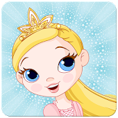Princess memory game for kids