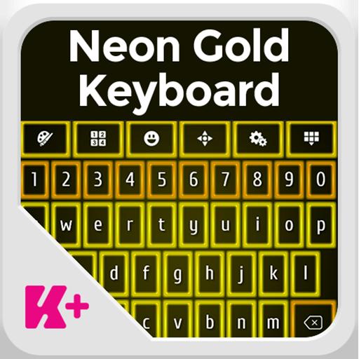 霓虹灯黄金键盘 個人化 App Store-癮科技App