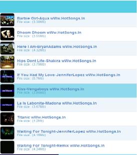 HotSongs - screenshot thumbnail