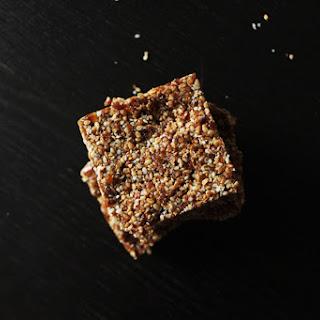 Sesame Seed Snack Bar Recipes.