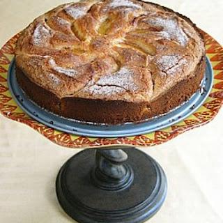 Spiced Nectarine Cake.