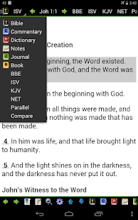 MySword Bible- screenshot thumbnail