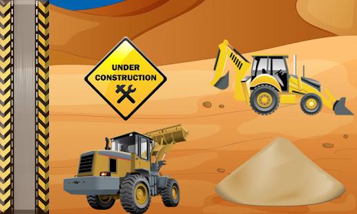 挖掘機 遊戲的孩子 汽車