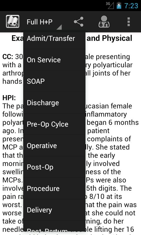 Notes & Orders: Medical Tool - screenshot