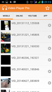 VIDEO PLAYER PROFE- screenshot thumbnail
