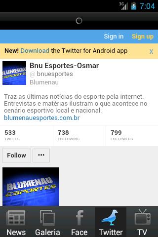 Blumenau Esportes